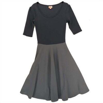 LuLaRoe NICOLE X-Small XS Womens Full Circle Skirt Dress fits 2-4