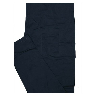LuLaRoe One Size OS Solid Starry Night Dark Blue (426446) Womens Leggings fits Adult sizes 2-10