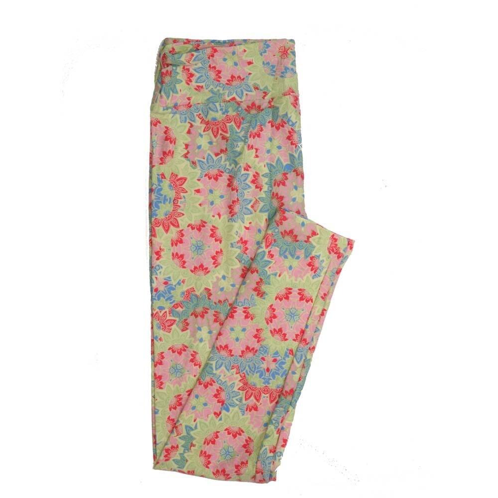 LuLaRoe Tall Curvy TC Floral Buttery Soft Womens Leggings fits Adults sizes 12-18  TC-7362-ZZZ