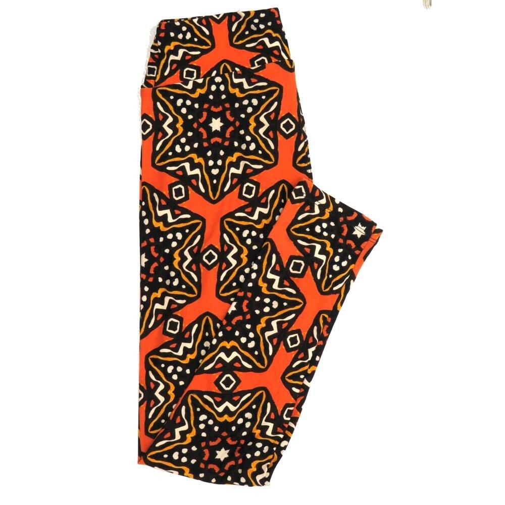 LuLaRoe One Size OS Mandala Trippy Polka Dot Buttery Soft Womens Leggings fit Adult sizes 2-10  OS-4358-AA