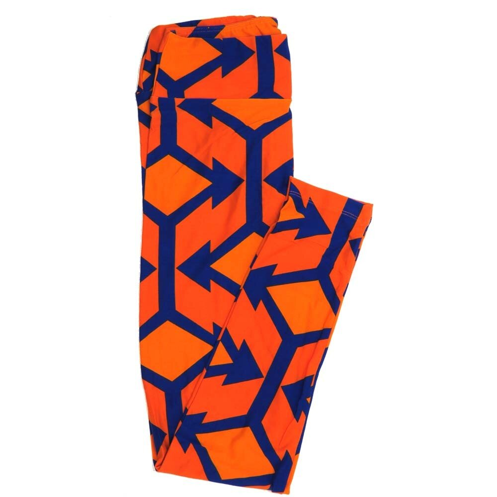 LuLaRoe One Size OS Directional Arrows Buttery Soft Womens Leggings fit Adult sizes 2-10  OS-4358-AX
