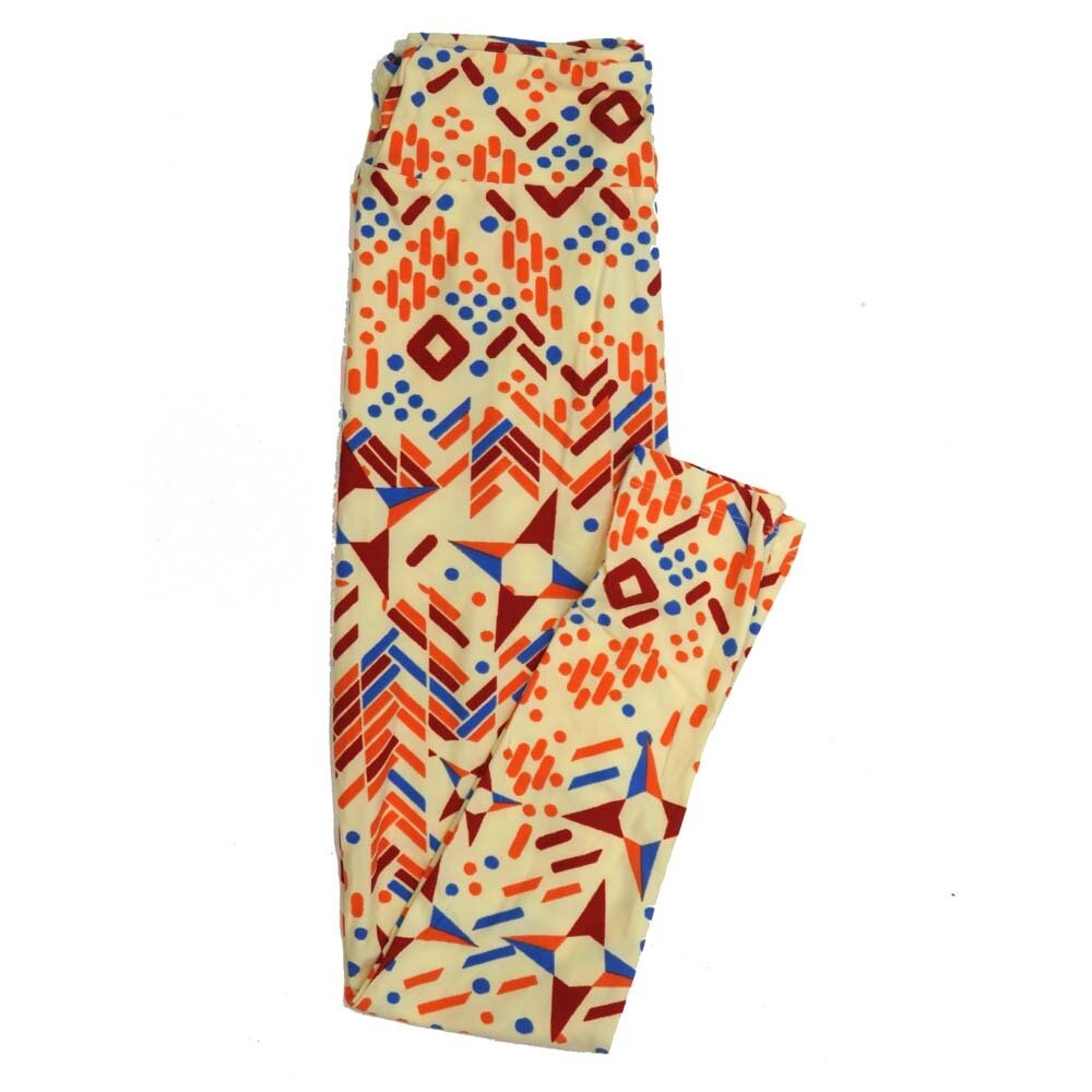 LuLaRoe One Size OS Chevrons Compass Pointer Polka Dot Buttery Soft Womens Leggings fit Adult sizes 2-10  OS-4360-BC