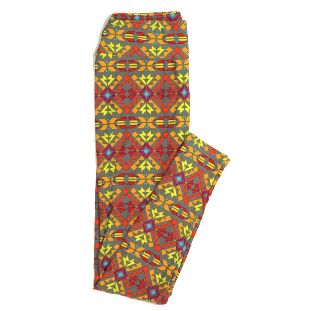 LuLaRoe One Size OS Floral Buttery Soft Womens Leggings fit Adult sizes 2-10  OS-4366-AN