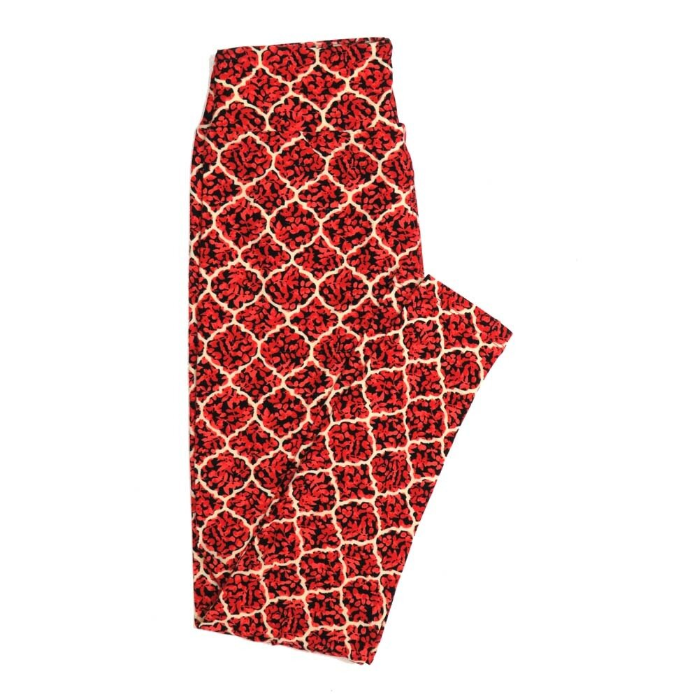 LuLaRoe One Size OS Floral Buttery Soft Womens Leggings fit Adult sizes 2-10  OS-4366-AW