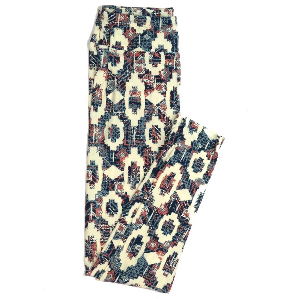 LuLaRoe One Size OS Floral Buttery Soft Womens Leggings fit Adult sizes 2-10  OS-4366-BD