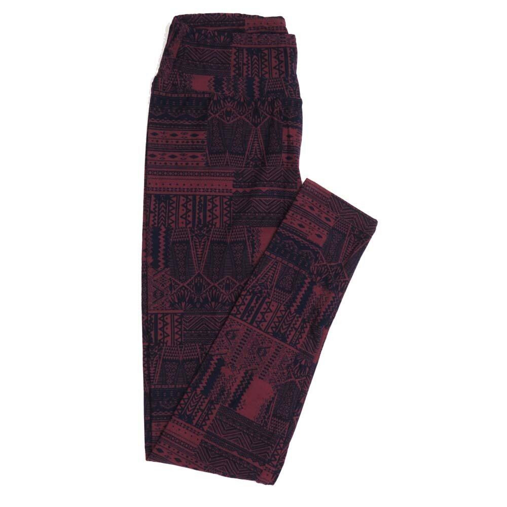 LuLaRoe One Size OS Geometric Buttery Soft Womens Leggings fit Adult sizes 2-10  OS-4371-AD