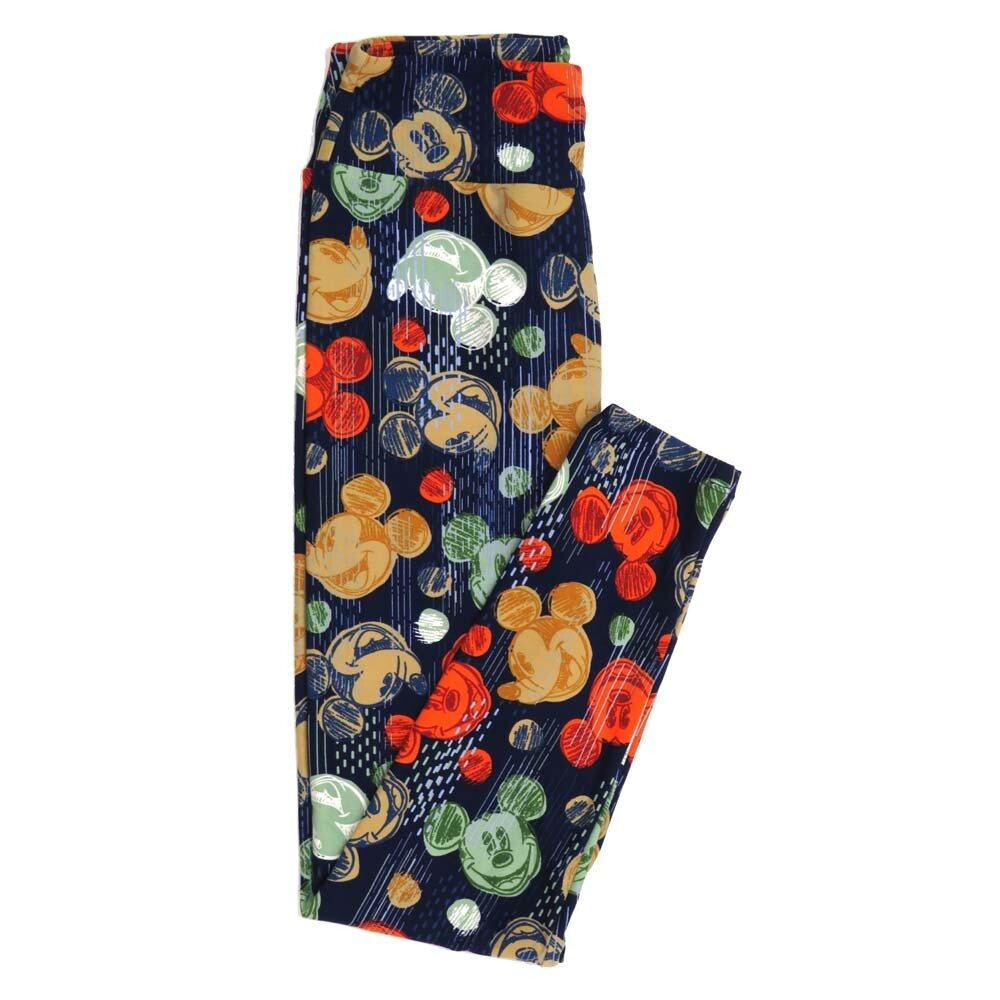 LuLaRoe One Size OS Disney Buttery Soft Womens Leggings fit Adult sizes 2-10  OS-4372-AC