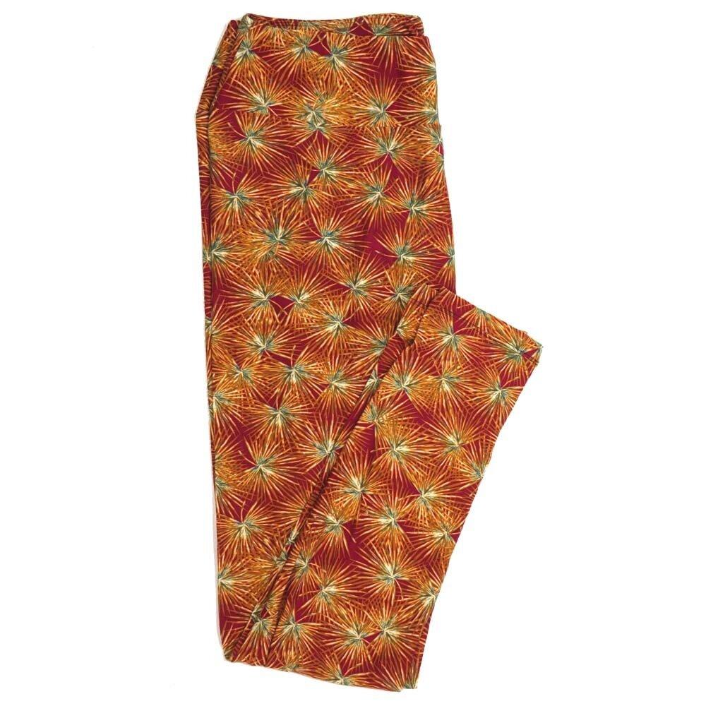 LuLaRoe Tall Curvy TC Floral Buttery Soft Womens Leggings fits Adults sizes 12-18  TC-7234-CB