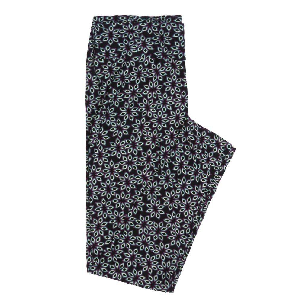 LuLaRoe Tall Curvy TC Mandalas Buttery Soft Womens Leggings fits Adults sizes 12-18  TC-7350-M