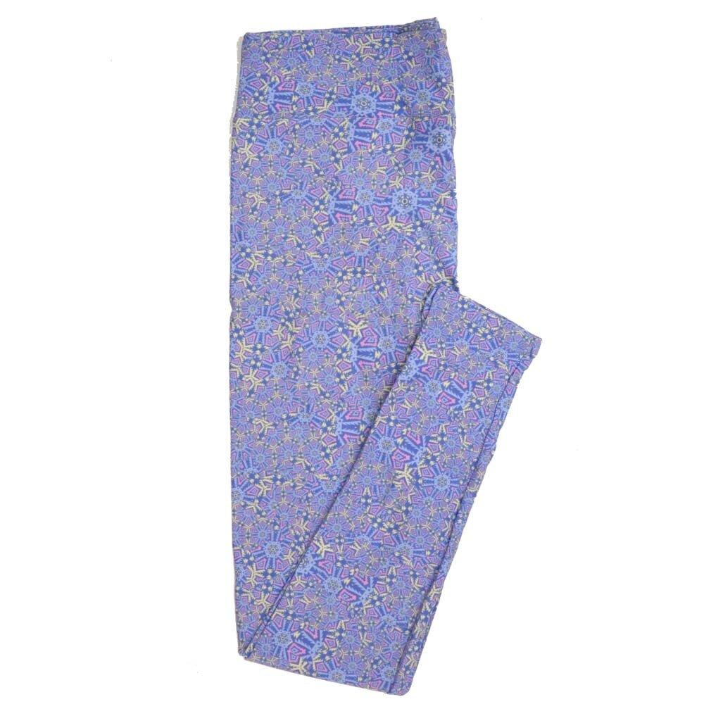 LuLaRoe Tall Curvy TC Mandalas Buttery Soft Womens Leggings fits Adults sizes 12-18  TC-7350-R