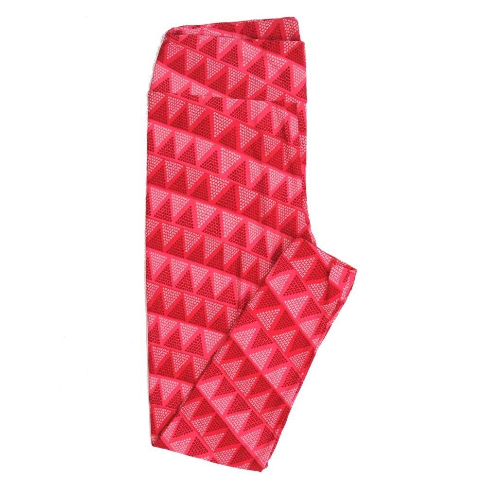 LuLaRoe Tall Curvy TC Valentines Love X's and O's Traingle Hearts Buttery Soft Womens Leggings fits Adults sizes 12-18  TC-7354-J