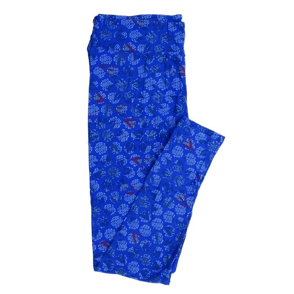LuLaRoe Tall Curvy TC Polka Dots Buttery Soft Womens Leggings fits Adults sizes 12-18  TC-7356-L