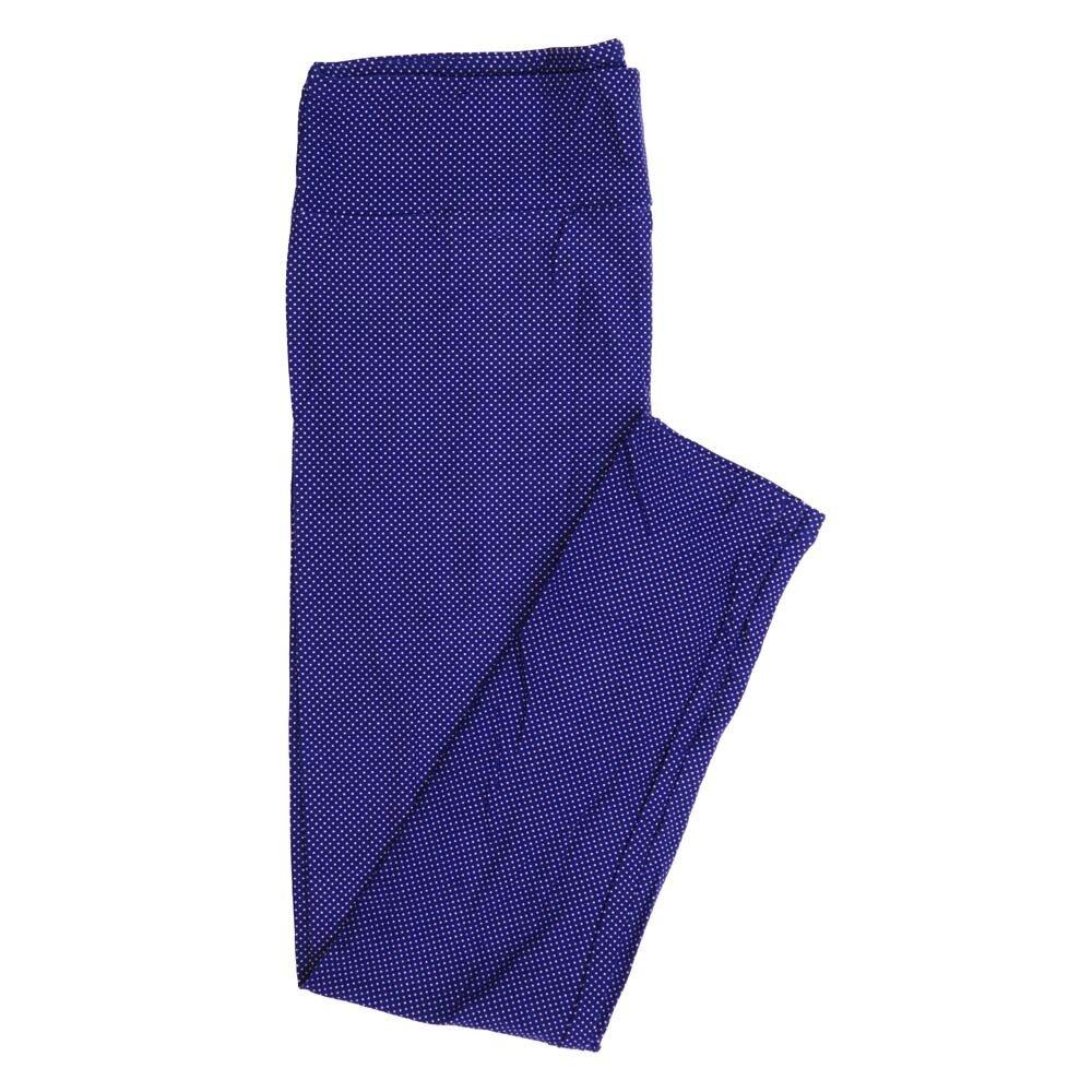 LuLaRoe Tall Curvy TC Polka Dots Buttery Soft Womens Leggings fits Adults sizes 12-18  TC-7356-P