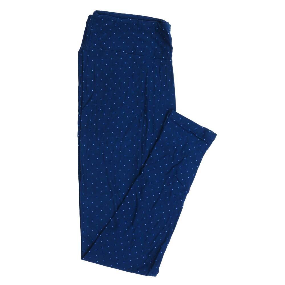 LuLaRoe Tall Curvy TC Polka Dots Buttery Soft Womens Leggings fits Adults sizes 12-18  TC-7356-Q