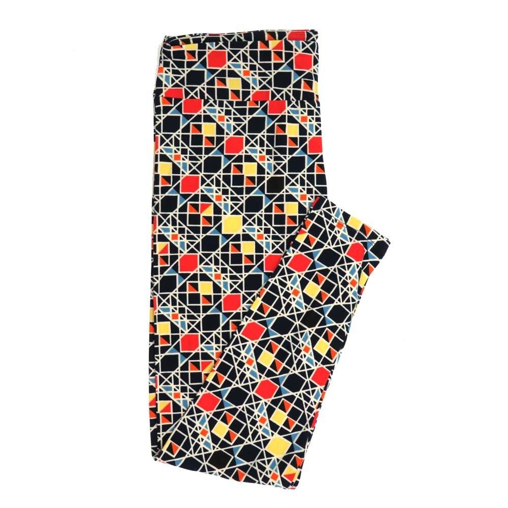 LuLaRoe Tall Curvy TC Geometric Buttery Soft Womens Leggings fits Adults sizes 12-18  TC-7357-H
