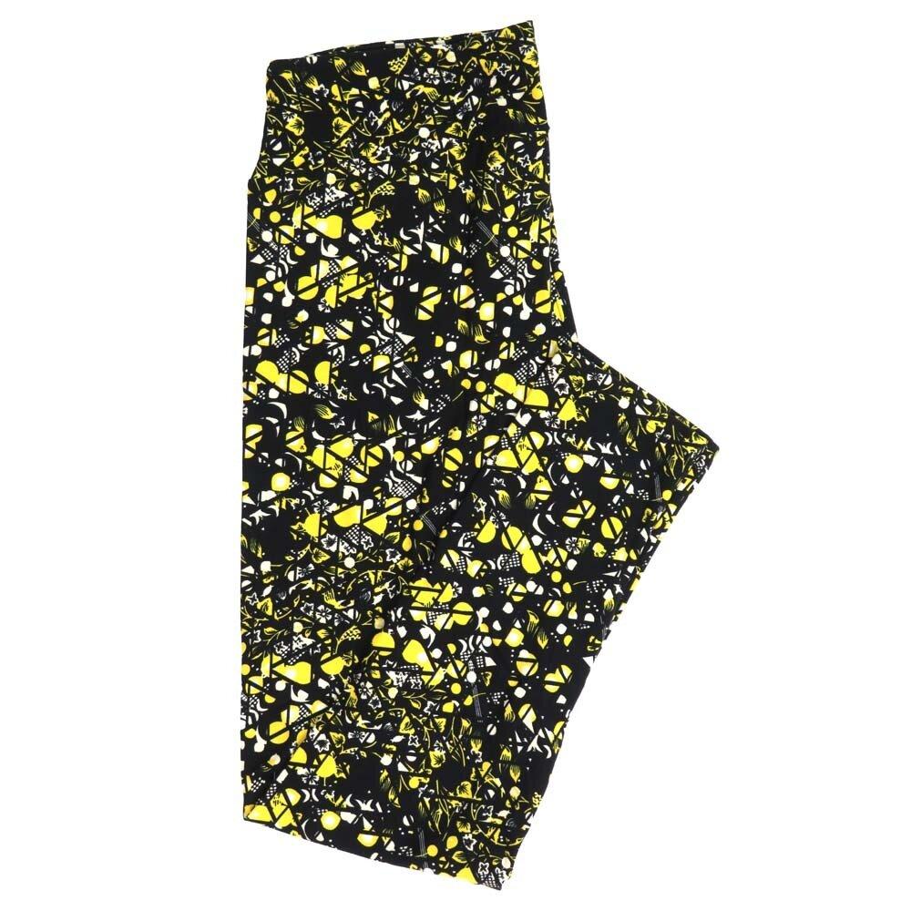 LuLaRoe Tall Curvy TC Geometric Buttery Soft Womens Leggings fits Adults sizes 12-18  TC-7357-Q