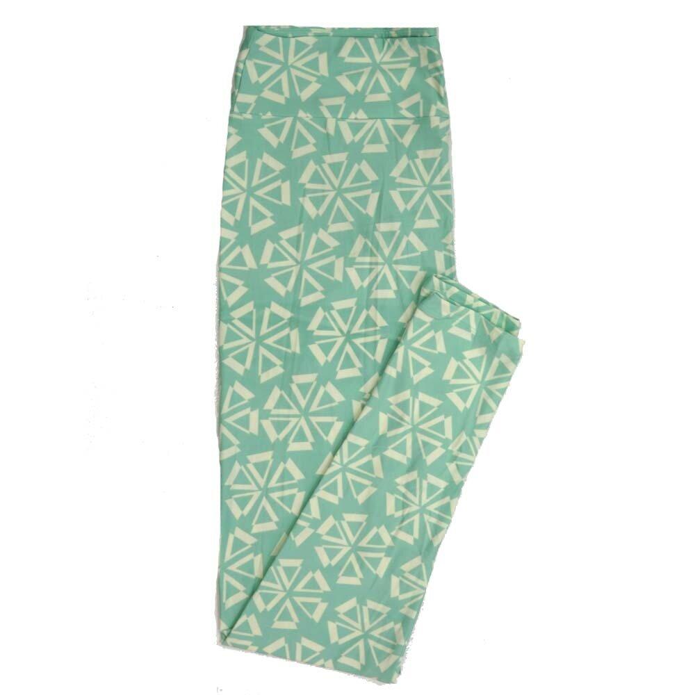 LuLaRoe Tall Curvy TC Geometric Buttery Soft Womens Leggings fits Adults sizes 12-18  TC-7358-D