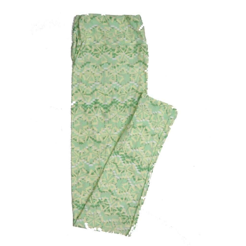 LuLaRoe Tall Curvy TC Geometric Buttery Soft Womens Leggings fits Adults sizes 12-18  TC-7358-J