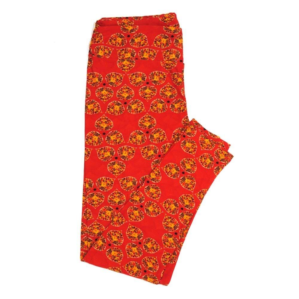 LuLaRoe Tall Curvy TC Floral Buttery Soft Womens Leggings fits Adults sizes 12-18  TC-7362-P
