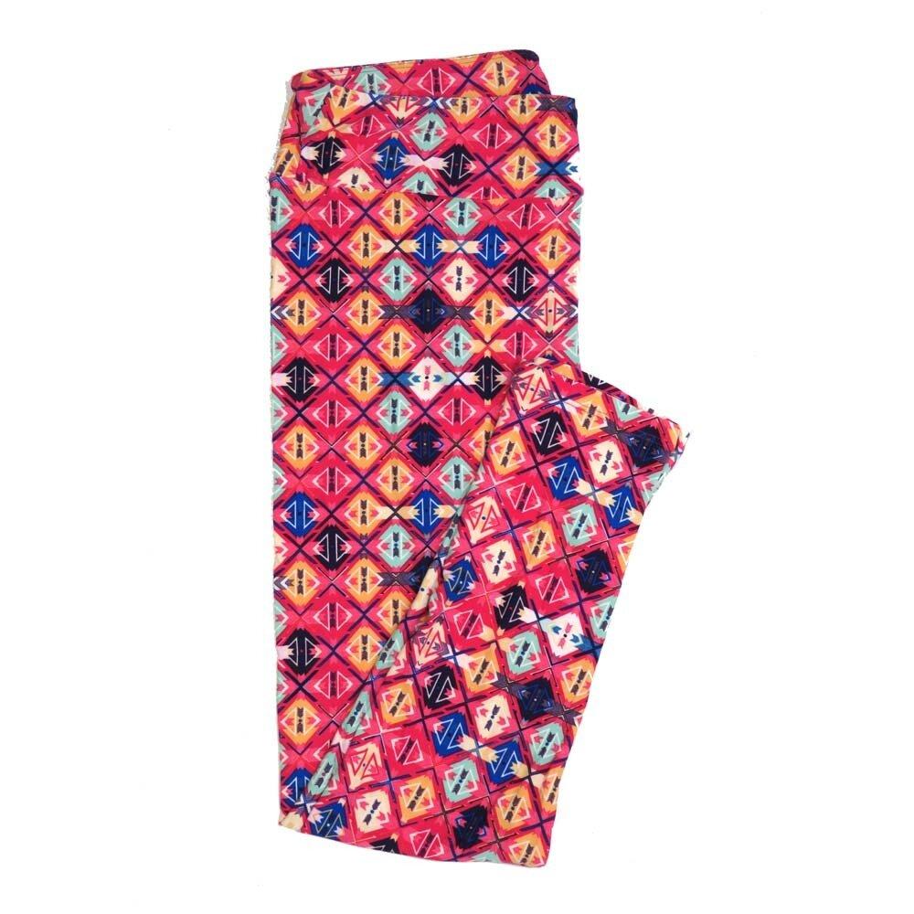 LuLaRoe Tall Curvy TC Stripes Checkerboard Buttery Soft Womens Leggings fits Adults sizes 12-18  TC-7363-I
