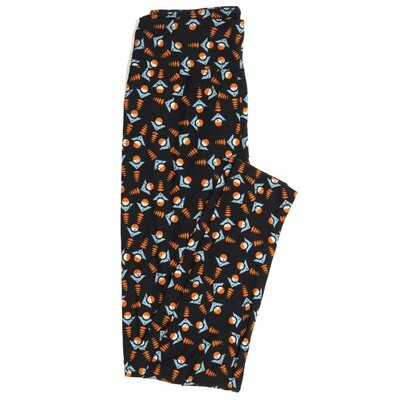 LuLaRoe One Size OS Geometric Buttery Soft Womens Leggings fit Adult sizes 2-10  OS-4372-AO