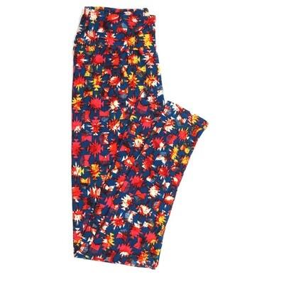 LuLaRoe One Size OS Geometric Buttery Soft Womens Leggings fit Adult sizes 2-10  OS-4371-AU