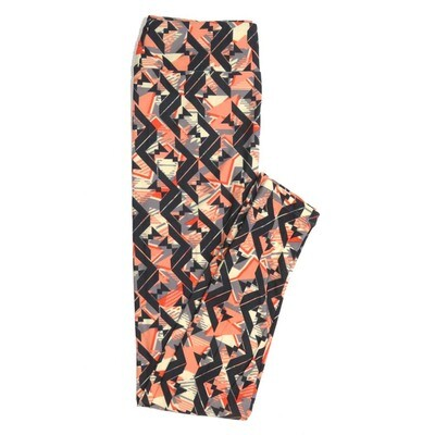 LuLaRoe One Size OS Geometric Buttery Soft Womens Leggings fit Adult sizes 2-10  OS-4371-AK