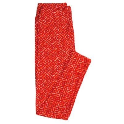LuLaRoe One Size OS Geometric Buttery Soft Womens Leggings fit Adult sizes 2-10  OS-4371-AE