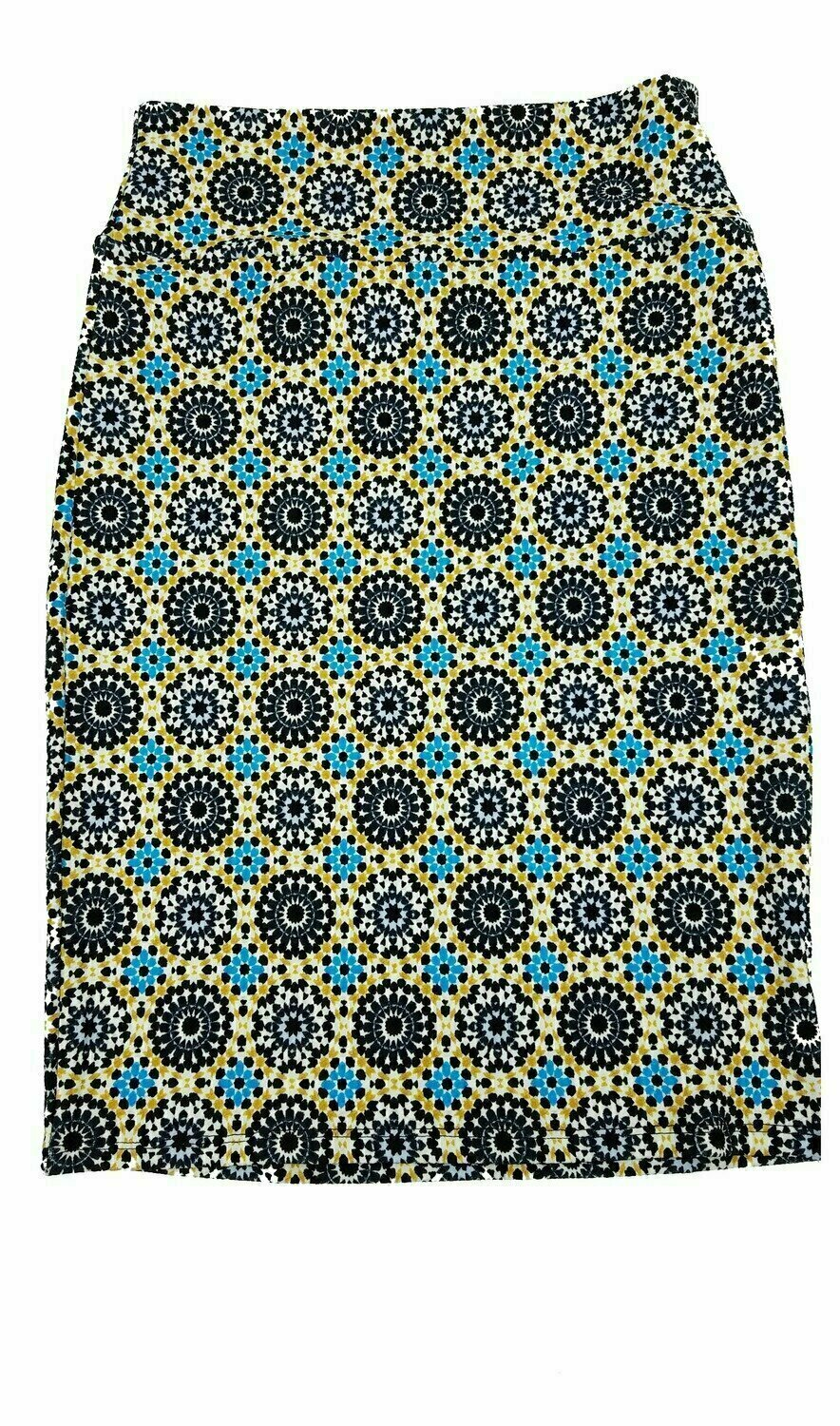 LuLaRoe Cassie Small S Womens Knee Length Pencil Skirt fits sizes 6-8  S50