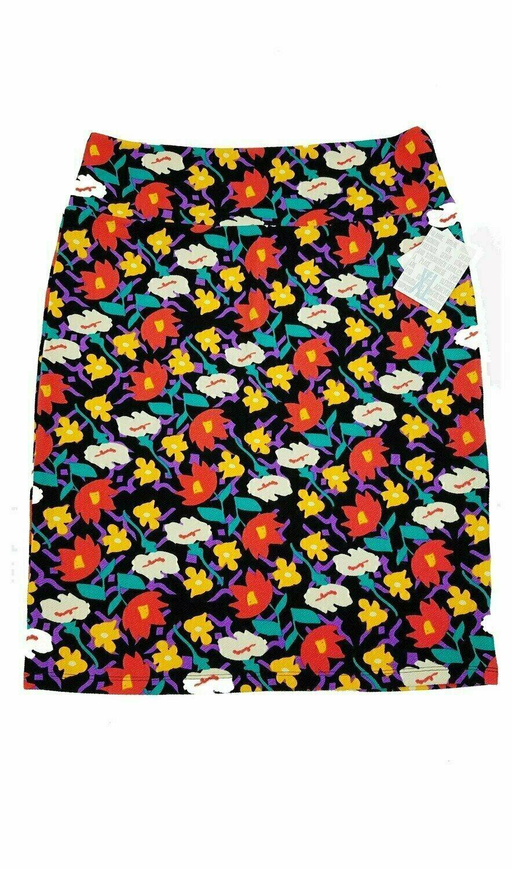 LuLaRoe Cassie X-Large XL Womens Knee Length Pencil Skirt fits sizes 18-20  XL50