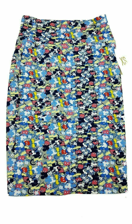 LuLaRoe Cassie X-Small XS Womens Knee Length Pencil Skirt fits sizes 2-4  XS58