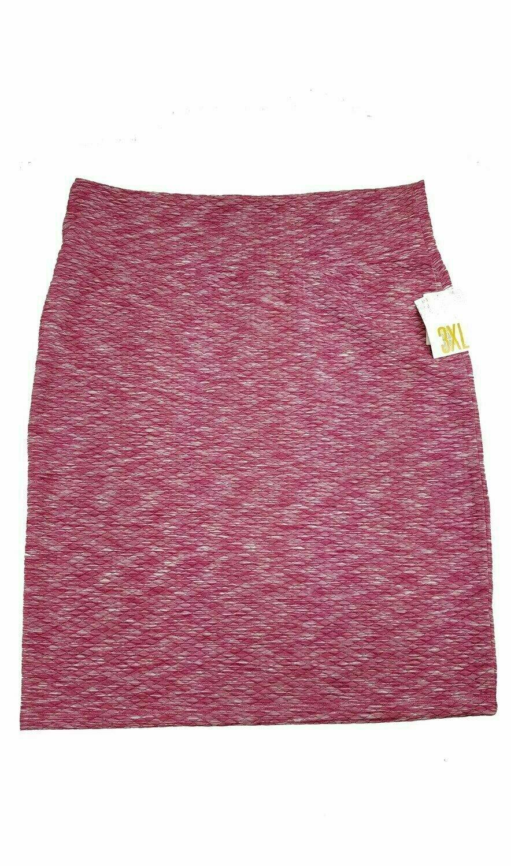 LuLaRoe Cassie XXX-Large 3XL Womens Knee Length Pencil Skirt fits sizes 24-26  3XL52
