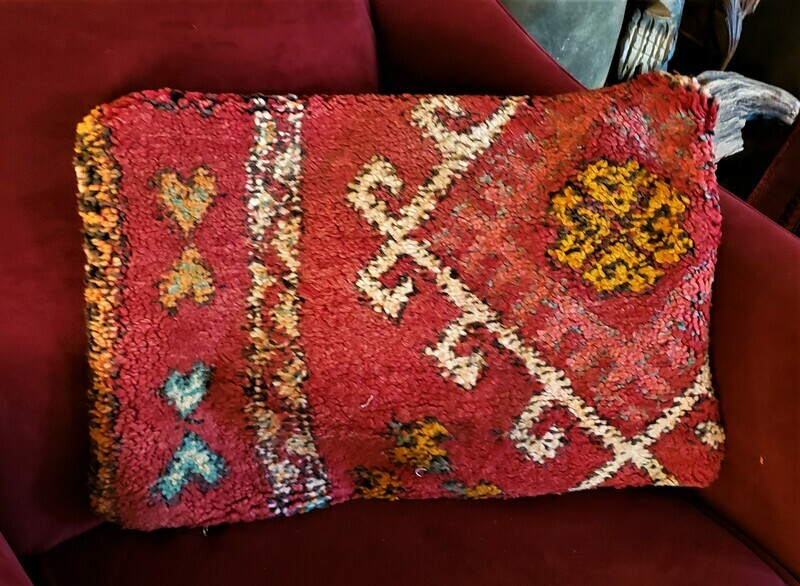 Moroccan Boujaad Wool Pillow Cover