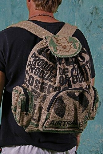 Guatemalan Coffee Bag Backpack