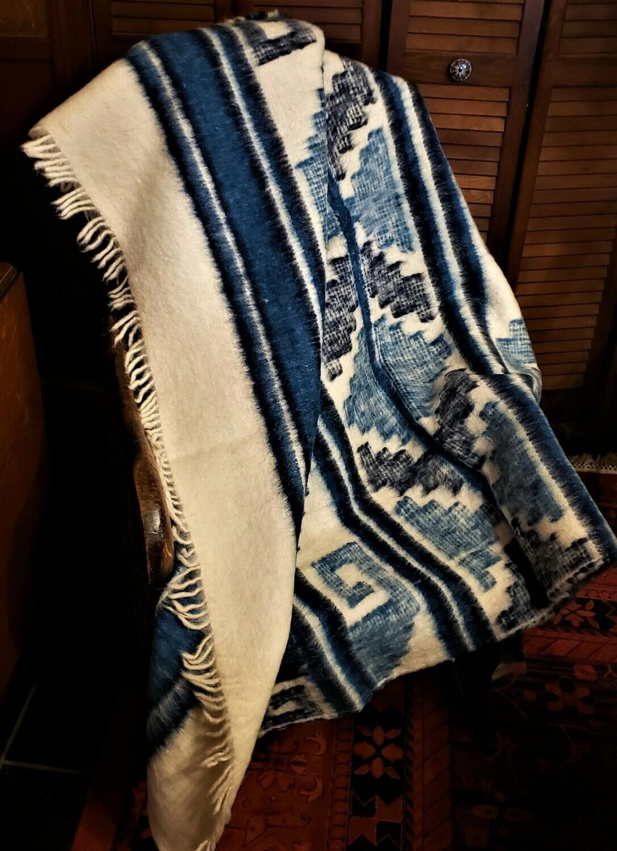 Handmade Guatemalan Wool Throw Blanket
