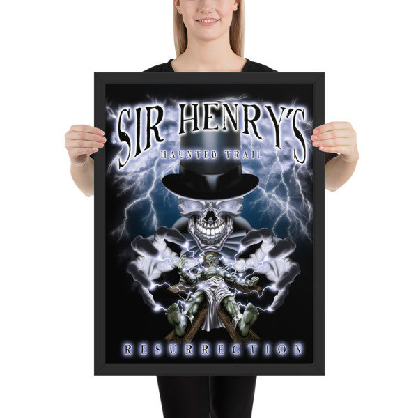 2017 Resurrection Framed poster