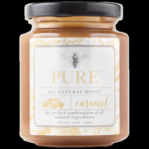 Caramel Honey Sauce  12oz (Pure Honey)