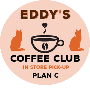 Plan C: One Year (PICK UP STORE) Membership Coffee Club: 2 Bags of Coffee/Month