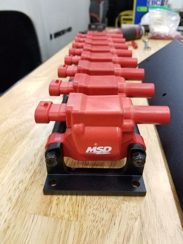 Coil Pack Re-locator for LS Engines