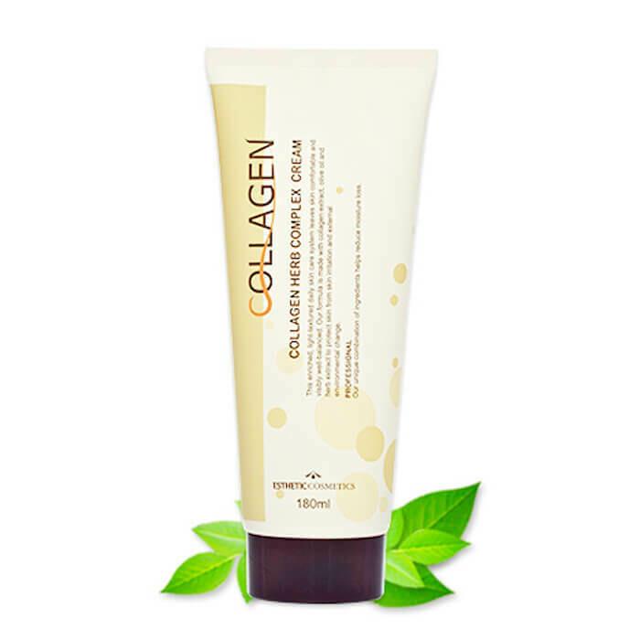 Крем для лица с коллагеном и растительными экстрактами Esthetic House Collagen Herb Complex Cream