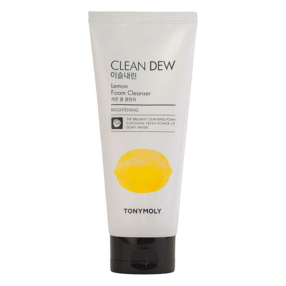Пенка с лимонным экстрактом Tony Moly Clean Dew Foam Cleanser Lemon