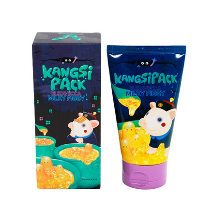 Elizavecca Смываемая маска для лица с содержанием 24-каратного золота Kangsi Pack