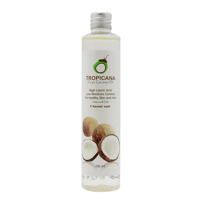 Tropicana 100% натуральное кокосовое масло первого холодного отжима Organic Cold Pressed Virgin Coconut Oil 100%