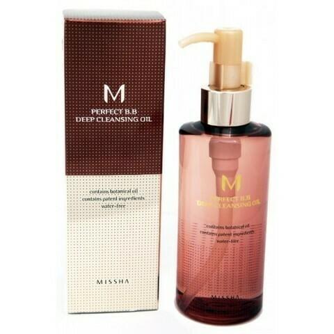 Missha Гидрофильное масло для снятия ВВ крема и любого макияжа Perfect B.B Deep Cleansing Oil