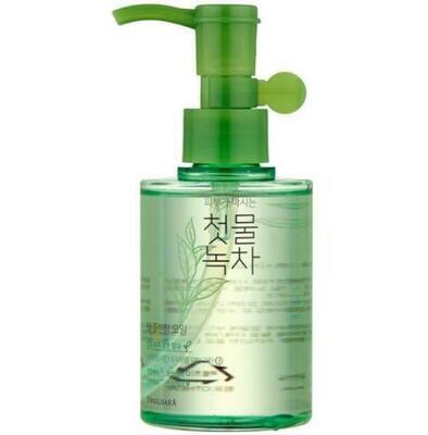 Гидрофильное масло Welcos Green Tea Deep Cleansing Oil 170 мл