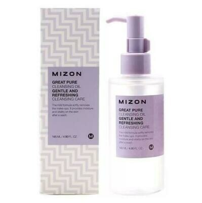 Очищающее масло для снятия ББ крема и макияжа любой сложности Mizon Great Pure Cleansing Oil 145 мл