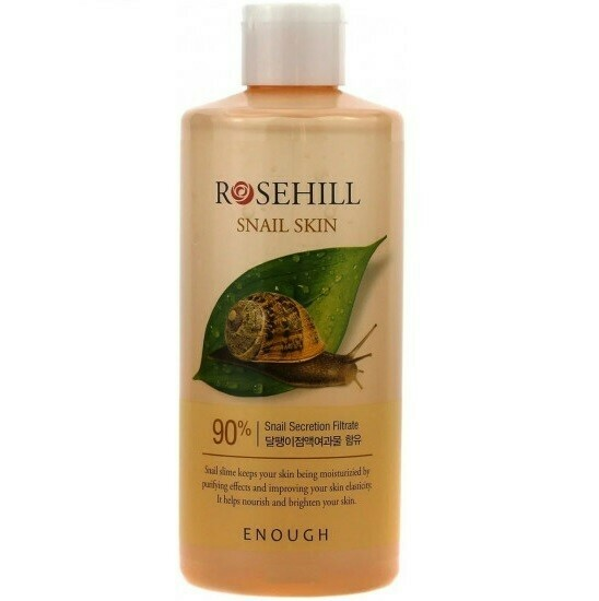 EnoughТонер для лица с муцином улитки - Rosehill Snail Skin 90%