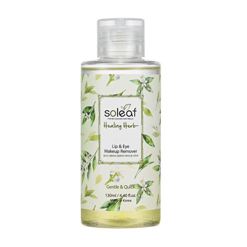 Soleaf Очищающая вода для снятия макияжа с целебными травами Healing Herb Cleansing Water