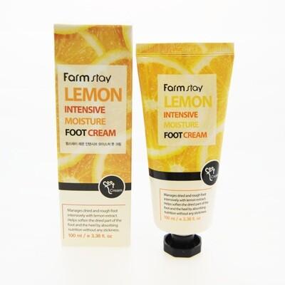 Крем для ног FarmStay Lemon Intensive Moisture Foot Cream 100 мл