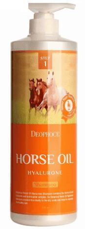 Шампунь с гиалуроновой кислотой Deoproce Horse Oil Hyalurone Shampoo 1000 мл